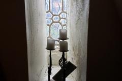 narrow window alcove