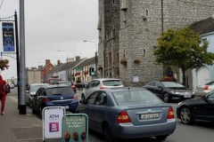 Ardee Castle, which was closed off